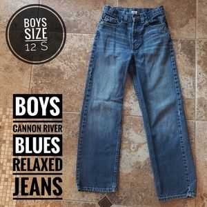 Boys Cannon River Blues Relaxed Jeans